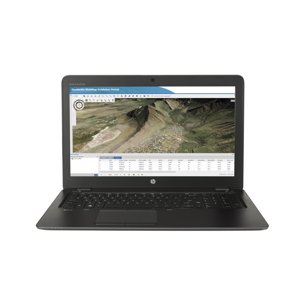 HP Zbook 15 U G3 - Intel® Core™ i7 6500U (Réf HP : T7W12ET)