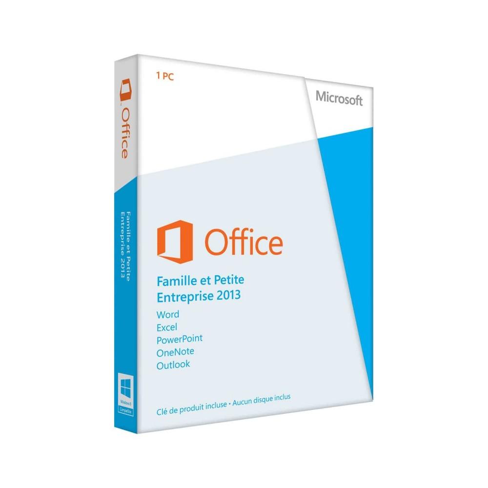Microsoft Office 2013 Famille et Petite Entreprise (Réf : T5D-01627)