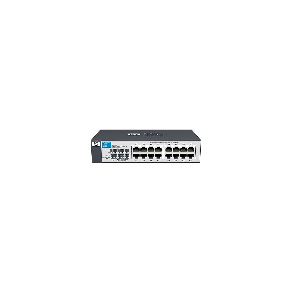 HP 1410-16G Switch 16 ports 10/100/1000 (Réf HP : J9662A)