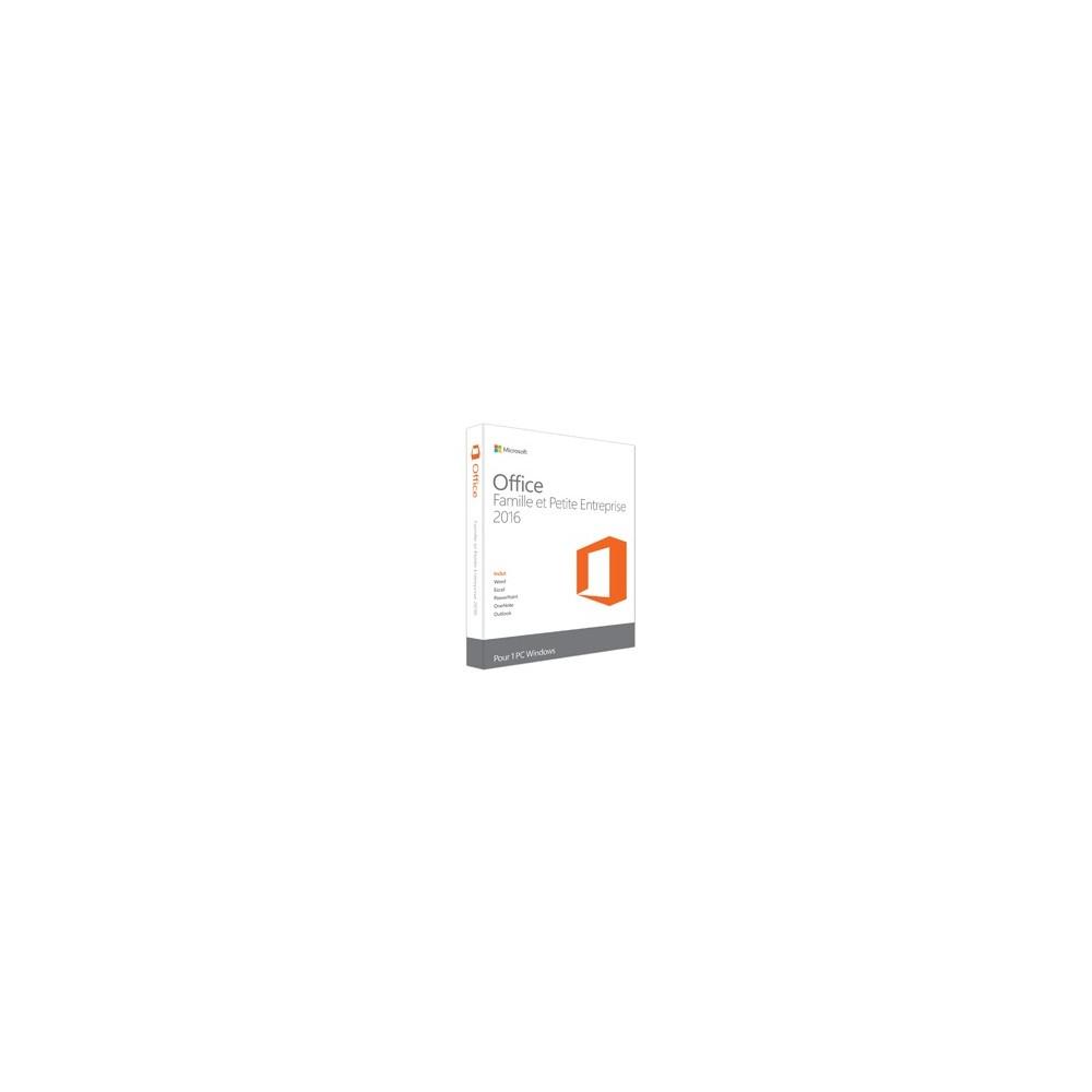 Microsoft Office 2016 Famille et Petite Entreprise (Réf : T5D-02391)