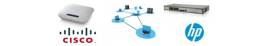 réseau, HP, Cisco